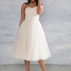 Chi Chi London Blush Love Above The Rest Dress Mod